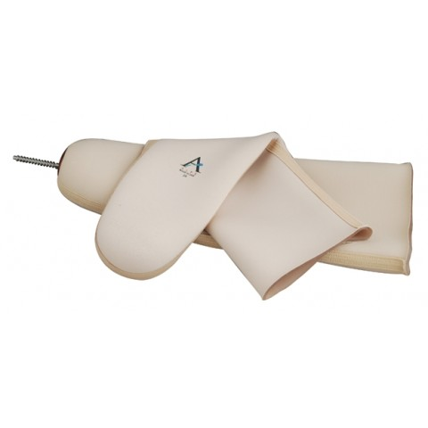 Κάλτσα σιλικόνης ALPS Easy Liner χωρίς πείρο, με ύφασμα, ενισχυμένη - μηρού-κνήμης