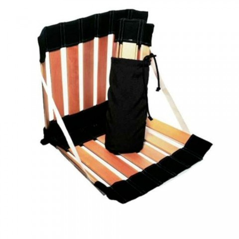 Ξύλινο φορητό κάθισμα με πλάτη Ergolife