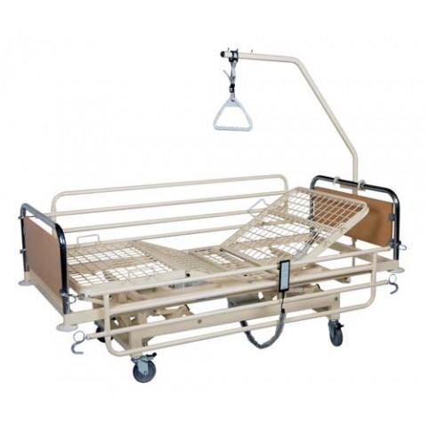 Ηλεκτροκίνητο κρεβάτι μονόσπαστο μεταβλητού ύψους με ρόδες