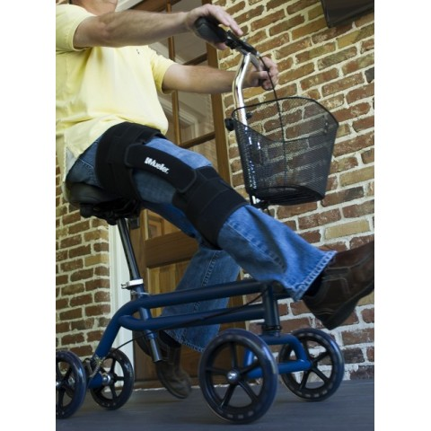 Τροχήλατο πτυσσόμενο κάθισμα με δυνατότητα ανάρτησης κάτω άκρου