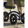 Τροχήλατη πτυσσόμενη στήριξη γονάτου για βάδιση Μπλε