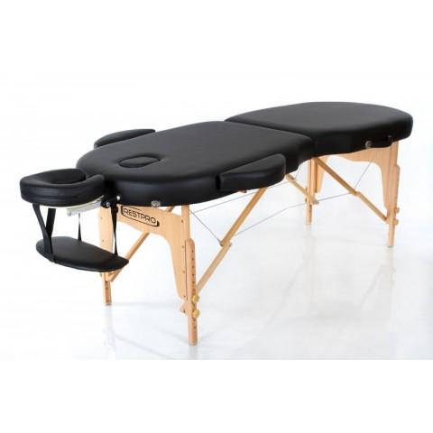 Rest Pro VIP Oval 2 Κρεβάτι Φυσικοθεραπείας-Μασάζ Βαλίτσα Ξύλινο