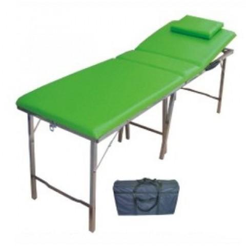 Κρεβάτι φυσιοθεραπείας τύπου βαλίτσα
