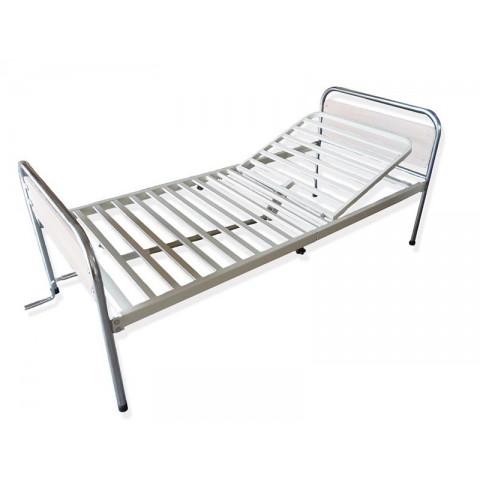 Κρεβάτι μεταλλικό Μονόσπαστο Μπεζ
