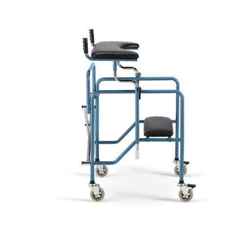 Περιπατητήρας πτυσσόμενος με κάθισμα και λαβές