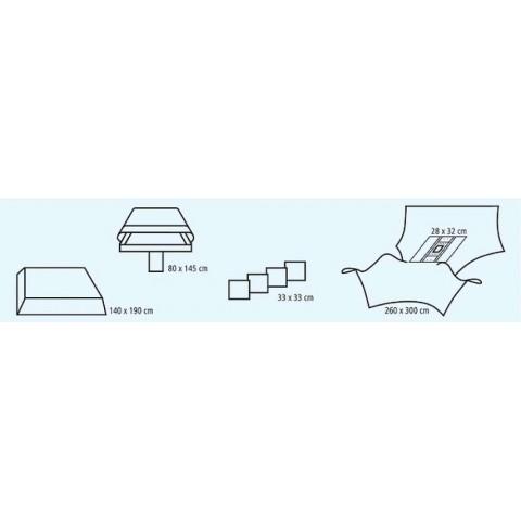 Σετ comfort λαπαροσκόπησης ΙΙ συσκευασία των 4 σετ