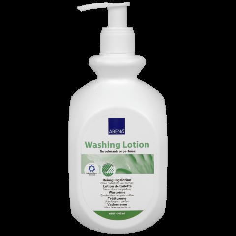 Λοσιόν καθαρισμού χωρίς άρωμα και ξέβγαλμα της Abena (500 ml)