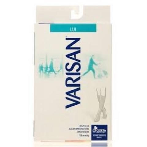 Κάλτσες ανδρικές διαβαθισμένης συμπίεσης Varisan 18mm Hg