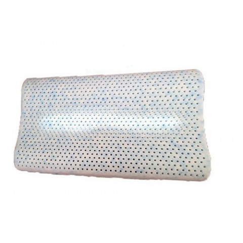 Ανατομικό μαξιλάρι ύπνου Λάτεξ με κάλυμμα