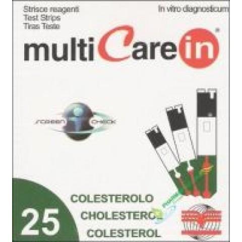 Multicare ταινίες μέτρησης χοληστερόλης