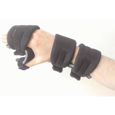 """Νάρθηκας χαλαρής πτώσης άκρας χειρός """"Functional restling splint""""."""