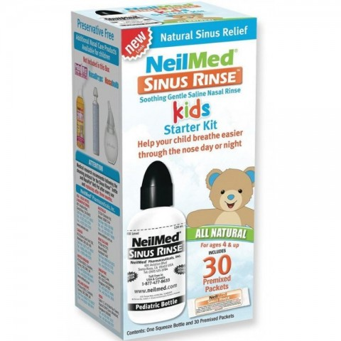NeilMed Sinus Rinse Kids Pediatric Starter Kit Με 30 Φακέλους