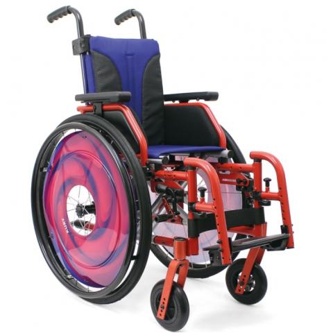 Παιδικό αναπηρικό αμαξίδιο ελαφρού τύπου διαμορφούμενου μεγέθους Nikol