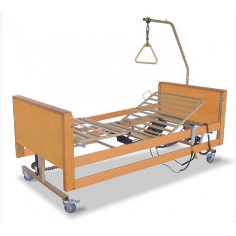 Νοσοκομειακό πλήρες ξύλινο ηλεκτρικό κρεβάτι