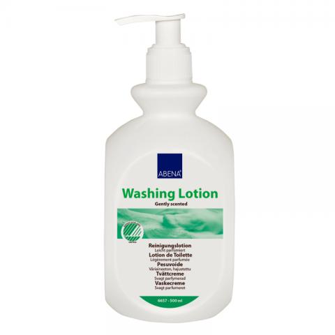 Λοσιόν καθαρισμού με άρωμα χωρίς ξέβγαλμα της Abena (500 ml)