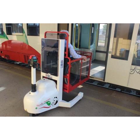 Τροχήλατος γερανός πολλαπλών χρήσεων Panda station