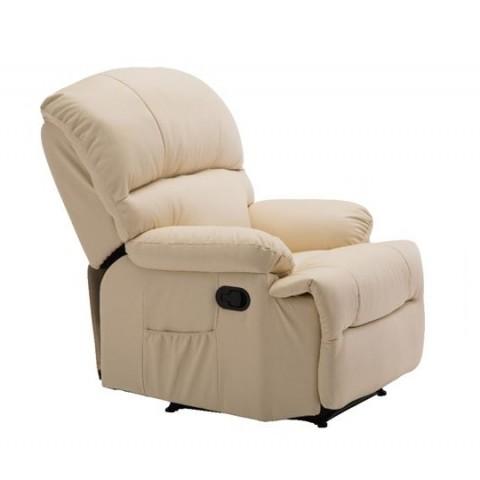 Πολυθρόνα Space με χειροκίνητη ανάκληση και massage