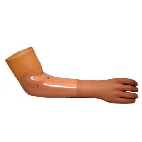 Πρόθεση αντιβραχίου ή απεξάρθρωσης καρπού διακοσμητική με κάλτσα σιλικόνης