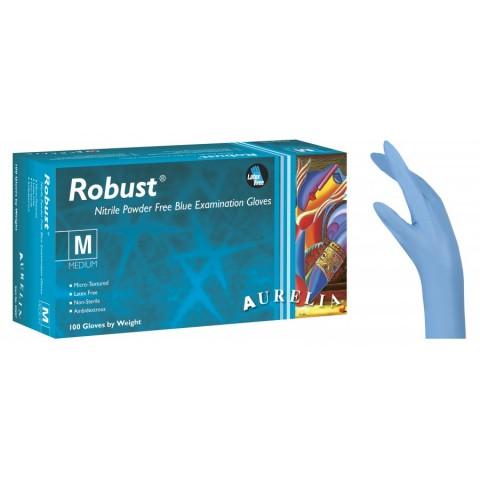 Γάντια νιτριλίου Aurelia μπλε μιας χρήσης (100 τεμάχια)
