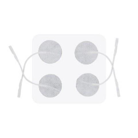 Ηλεκτρόδιο NMES Στρογγυλό με καλώδιο 4/τμχ