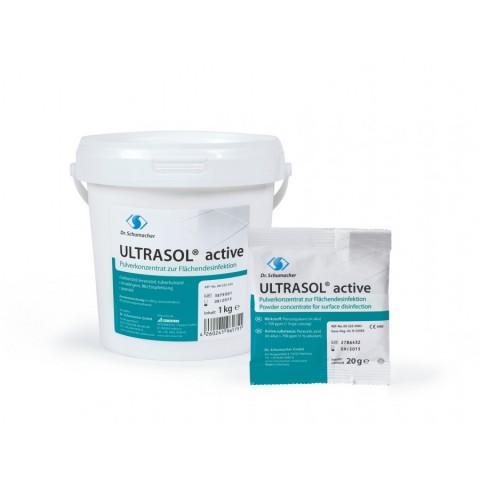 Σκόνη απολύμανσης επιφανειών Ultrasol active (20gr/1000gr)