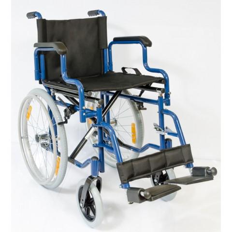 Στενό αναπηρικό αμαξίδιο Slim 53cm με μεγάλους τροχούς