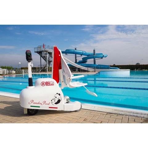 Τροχήλατος γερανός πισίνας Panda Pool