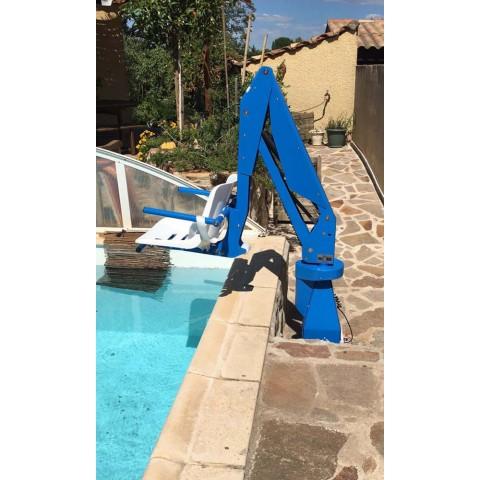 Σταθερός γερανός πισίνας F100M