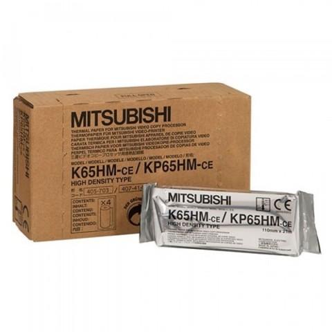 """Θερμικά χαρτιά υπερήχων Mitsubishi """"K-65HM Print media for A6 B/W video printer P-90 P-91"""""""