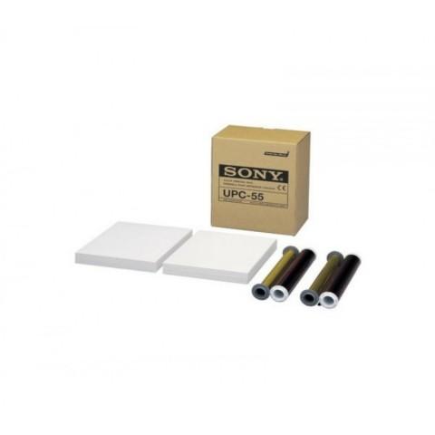 """Θερμικά χαρτιά υπερήχων SONY """"UPC-55 Color printing pack for A6 video printer UP-D55 UP-55MD"""""""