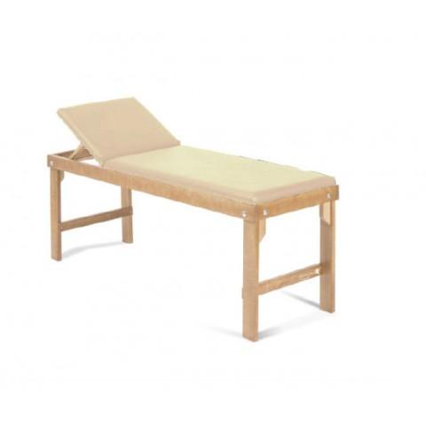 Κρεβάτι ξύλινο με ανάκληση πλάτης