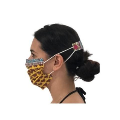 Μάσκα Προστασίας με μπαρέτα στο πίσω μέρος της κεφαλής