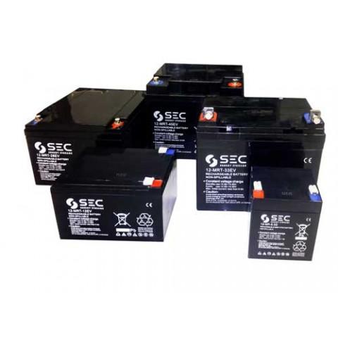Μπαταρία EV ΜΟΛΥΒΔΟΥ SEC, VRLA (AGM) 12V 5.0Ah (για γερανό N515 KSP)