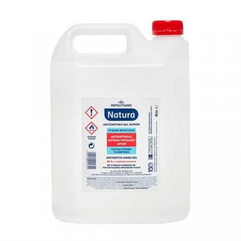 Αντισηπτικό gel χεριών Natura (4lt)