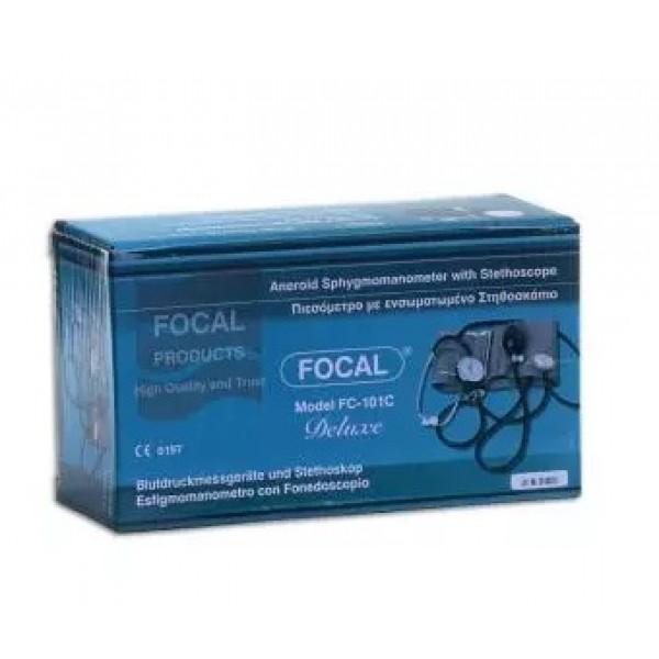 Πιεσόμετρο Focal Με ενσωματωμένο στηθοσκόπιο