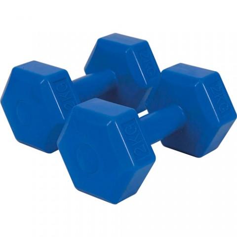 Βαράκια-Αλτήρες Πλαστικά Amila ζευγάρι (1 - 5 kg)