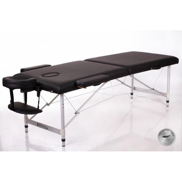 Rest Pro Alu 2 Κρεβάτι Φυσικοθεραπείας Βαλίτσα Αλουμινίου