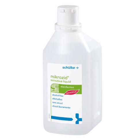 Mikrozid Απολυμαντικό επιφανειών χωρίς αλκοόλες με αντλία 1L