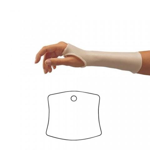Σχηματικά Προετοιμασμένα Κομμάτια Θερμοπλαστικού για Κατασκευή Πηχεοκαρπικού Νάρθηκα Ακινητοποίησης - Orfit Classic