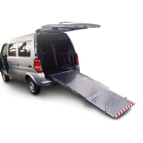 Χειροκίνητη τριπλή ράμπα αναπηρικών αμαξιδίων για οχήματα 2240cm