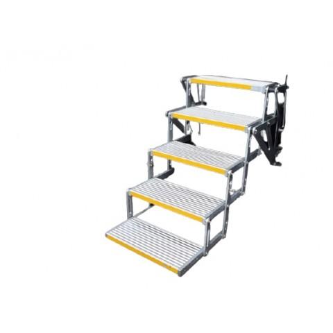 Ηλεκτρική σκάλα πολλαπλών σκαλοπατιών για οχήματα