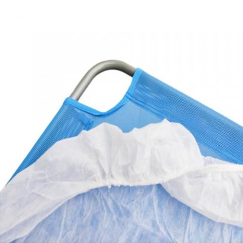 Προστατευτικό κάλυμμα ξαπλώστρας μιας χρήσης με λάστιχο
