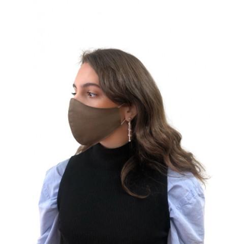 Μάσκα προστασίας πλενόμενη με ραφή στη μέση 2 Στρωμάτων με φίλτρο