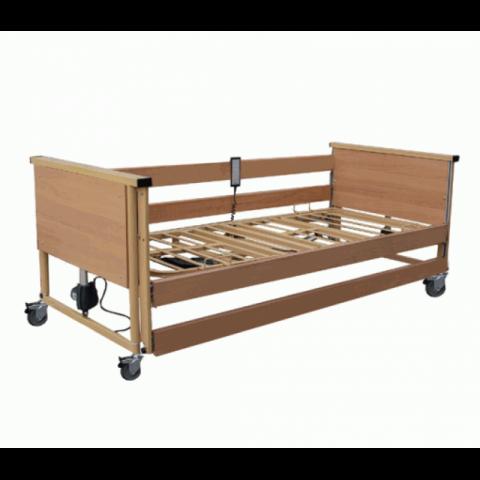 Ηλεκτρικό Νοσοκομειακό Κρεβάτι T1 με Στρώμα και με Κλειστή Μετώπη (προαιρετικός ο αναρτήρας έλξης)