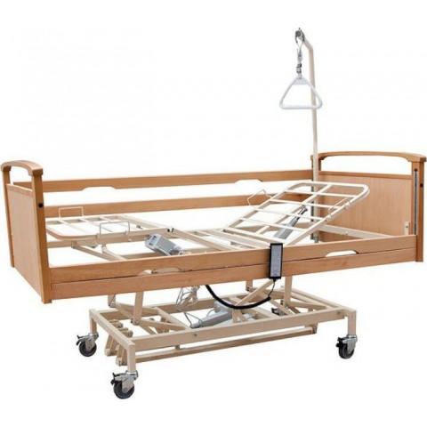 Ηλεκτροκίνητο κρεβάτι πολύσπαστο μεταβλητού ύψους με ρόδες Praxis 3