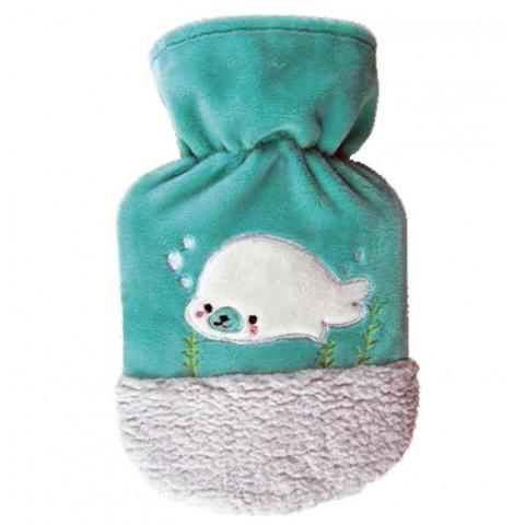 Θερμοφόρα Νερού Παιδική Με Κάλυμμα Φώκια Robbe 0,8Lit Sanger