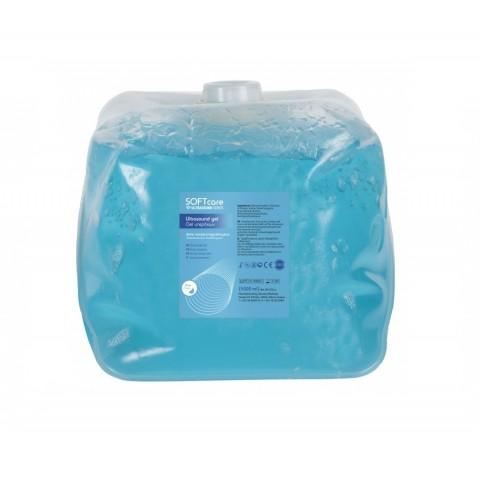 Ultrasoft gel υπερήχων μπλε 5lt