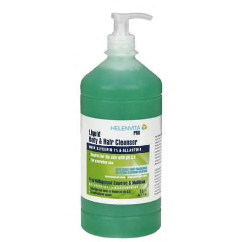Υγρό καθαρισμού σώματος & μαλλιών Helenvita Pro 1L