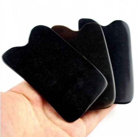 Εργαλείο GUA SHA από κέρατο βουβαλιού ορθογώνιο κλασσικό