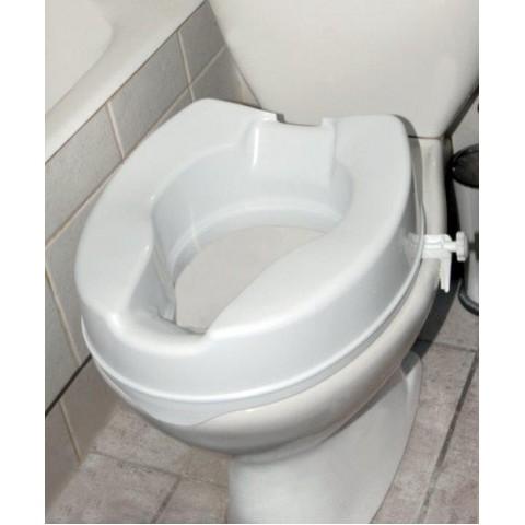 Ανυψωτικό τουαλέτας με πλαϊνούς σφιγκτήρες 15cm